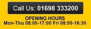 Call Us On 01698 333200